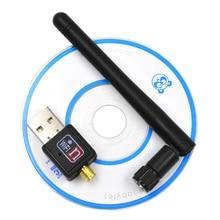 Besegad 150 Мбит/с USB Wifi адаптер мини беспроводная Lan Карта 802.11b/g/n MT7601 Wlan PC Wi Fi Wi-Fi ключ Wifi приемник антенна