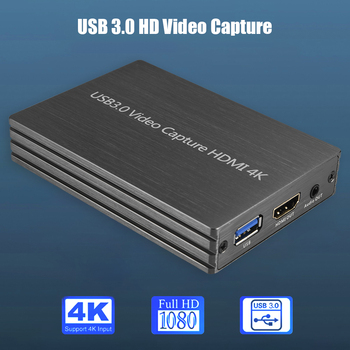 4K HDMI to USB 3.0 Video Capture Card Dongle 1080P 60fps HD Video Recorder Computer Components and Hardware