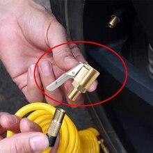 Auto Auto Messing 8mm Reifen Rad Reifen Air Chuck Inflator Pumpe Ventil Clip Clamp Stecker Adapter Auto Zubehör für kompressor