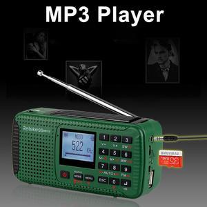 Image 4 - RETEKESS HR11S Tragbare Radio Bluetooth lautsprecher Solar Notfall Radio Empfänger FM MW SW Mit MP3 Player Digital Recorder