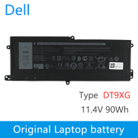 Dell Original New Replacement Laptop Battery For DELL Alienware Area 51m 07PWXV ALWA51M DT9XG 11.4V 90Wh 7500mah