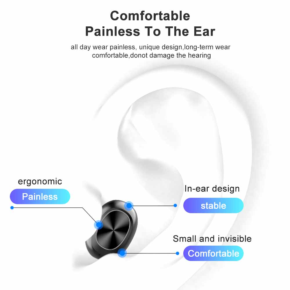 Image 5 - SIMVICT W1 TWS Bluetooth 5.0 Earphones Wireless Running Earbuds HIFI Stereo Earphone In ear Sports Headset with Mic for PhoneBluetooth Earphones & Headphones   -