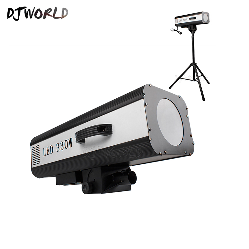 Djworld New Arrival LED 330w Follow Spotlight High Power Intelligent Adjustment Automatic For Wedding Dj Disco Decoration Excite