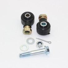 2Pcs 12mm ATV Steering Tie Rod End Kits For  Atv Motorcycle Polaris 500 2006 2007 2008 2009 2010 12 Atv Quad 4 wheeler