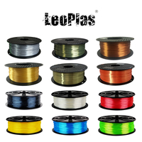 USA Spain China Warehouse 1.75mm 1kg Silk Metal Like PLA Filament For FDM 3D Printer Consumables Pen Material Printing Supplies