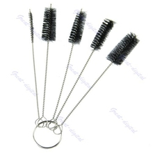 цены New 1 Set Tattoo Cleaning Brush Kit Tip For Tube Machine Grip Airbrush Spray Gun
