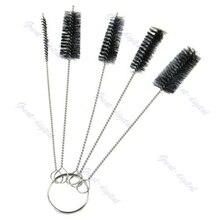 цены New 1 Set Tattoo Cleaning Brush Kit Tip For Tube Machine Grip Airbrush Spray Gun