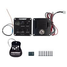 Fishman Isys + Eq della Chitarra Acustica Pickup Clip On Sound Hole Pick Up A Bordo Preamplificatori Amplificatore per Chitarra Guitarra Accessori(China)