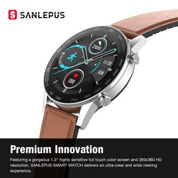 2021 SANLEPUS ECG Smart Watch Dial Call Smartwatch Men Sport Fitness Bracelet Clock Watches For Android Apple Xiaomi 6