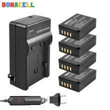 Bonacell For Fujifilm NP-W126 NP-W126S Battery + Battery Car Charger for Fujifilm X-M1 X-A1 X-T1 X-E1 X-Pro2 NP W126