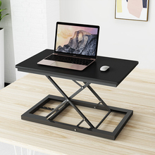 Home Office Lift Riser Elevating Desk Sit Stand Easy Height Adjustable Desk Conversion Standing Up Work Station Laptop Table
