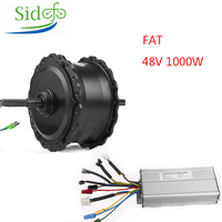 Electric Fat Bike Motor Rear Wheel 20/26 inch 48V 1000W Electric Bicycle Conversion Kit Snow E Bike Hub Motor With KT Controller