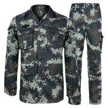 Uniforme táctico militar del ejército para hombres, traje de camuflaje de 2 colores, ropa táctica, traje de combate de fuerzas especiales, conjuntos de disfraz de soldado