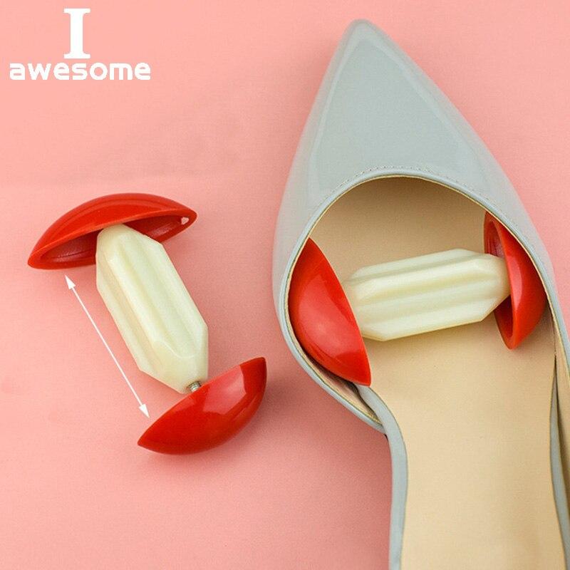 High Quality 2Pcs Adjustable Width Extenders Mini Shoe Stretchers Shapers Men Women'S Shoes Expander Stretch Shoes Accessories