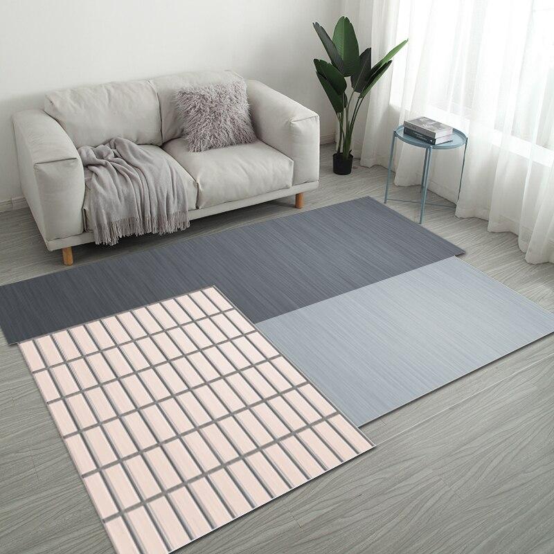 Nordic нерегулярные геометрический Коврик дома Гостиная коврики для ванной комнаты творческий Спальня прикроватные покрывало, плед исследование Йога Teppich коврик