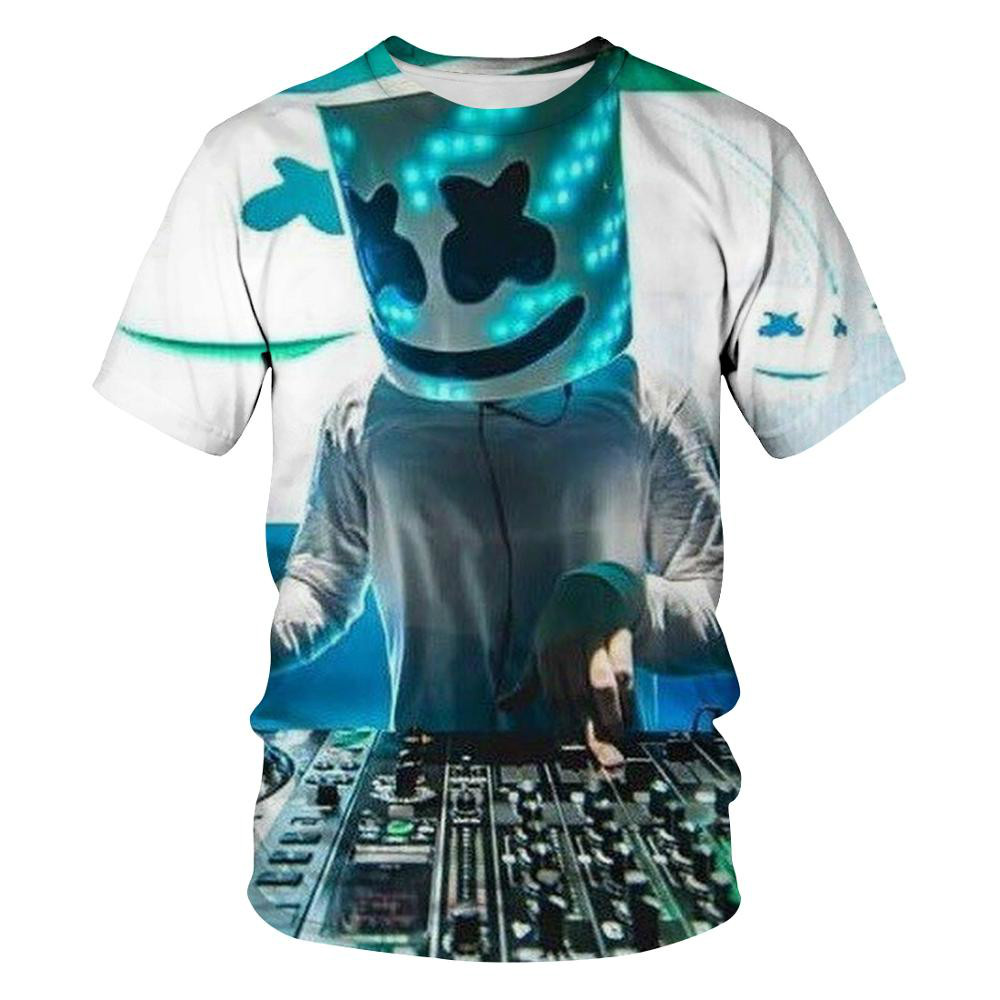 2021 New Funny Cartoon 3d T-shirt Funny T-shirt Men/women Hip-hop Fashion Short Sleeve T-shirt Tops Boys Girls O-neck Tops