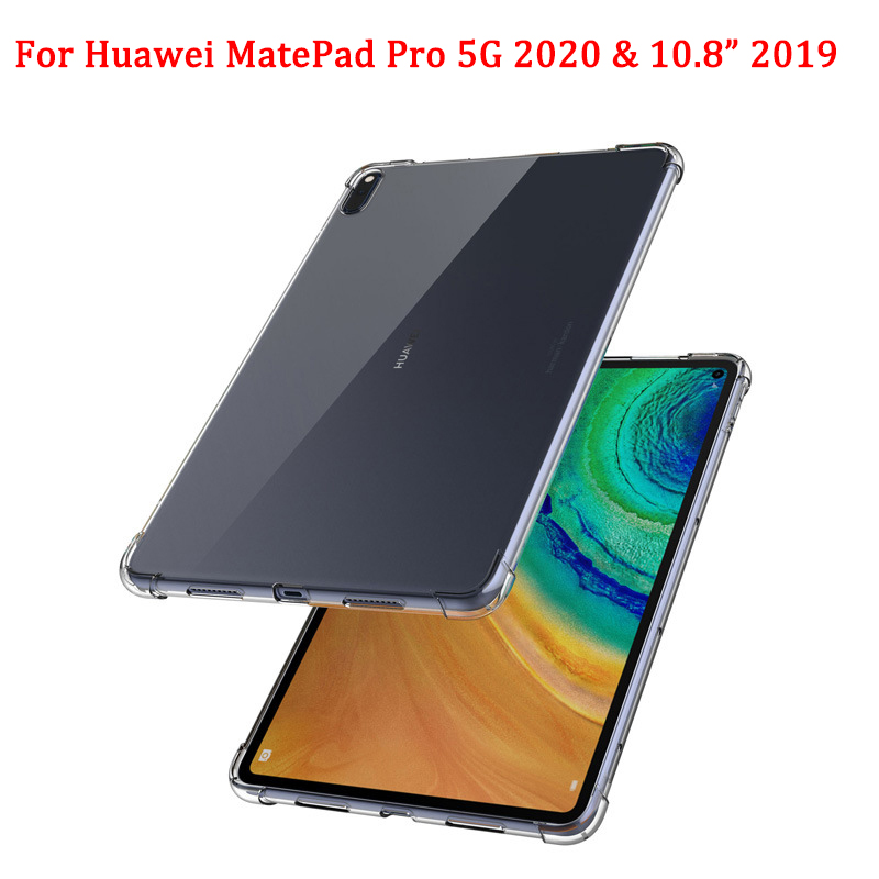For Huawei MatePad Pro 5G 2020 Clear Case Airbag Anti-fall Tablet Protective Cover For MatePad Pro 10.8