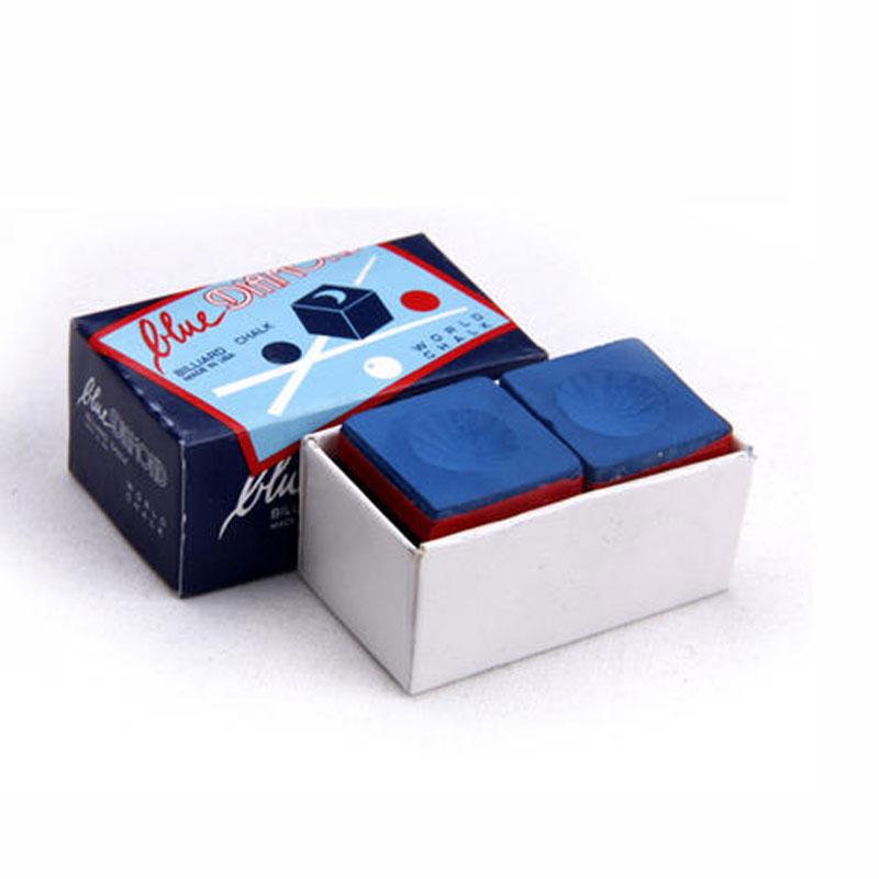 High Quality Longoni Blue Diamond Blue Billiards Pool Snooker Cue Stick Chalks Billiard Accessories