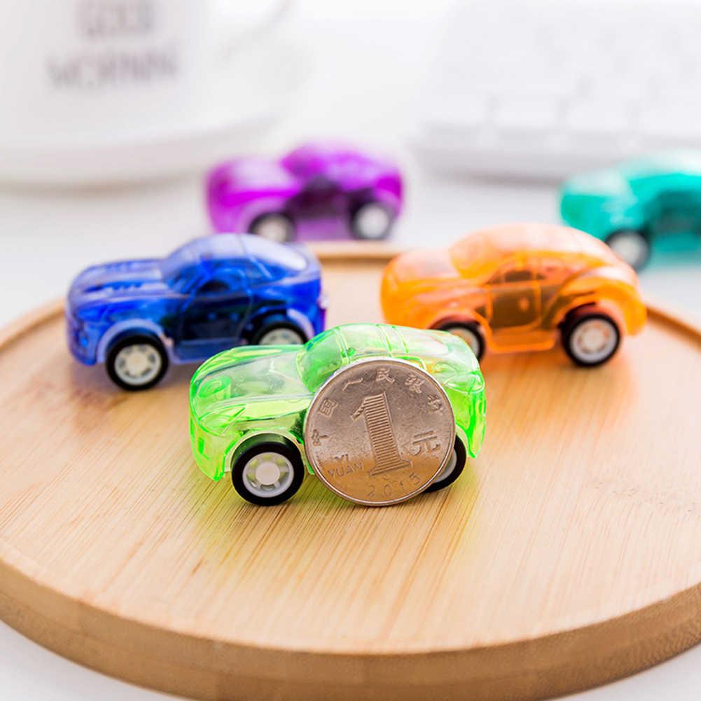 4 pièces retirer voiture jouets voiture enfants voiture de course bébé Mini voitures dessin animé retirer enfants jouets pour enfants garçon cadeaux