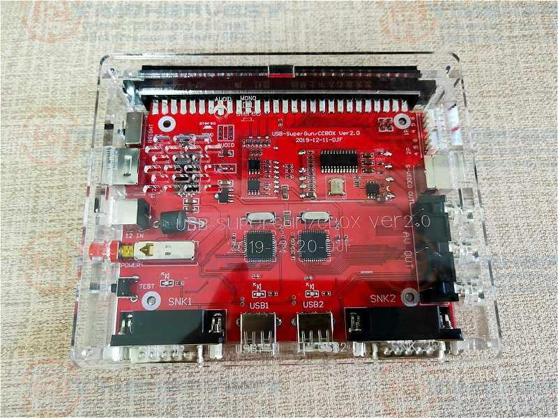 JAMMA To USB Joypad & SNK DB15 게임 패드 MD2 RGBS 출력을 갖춘 슈퍼 CBOX 변환기 모든 JAMMA 아케이드 게임용 PCB SNK 마더 보드