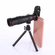 цена на 22X Zoom Mobile Phone Telescope Lens Optical Telephoto Camera Lens With Tripod HD Telescope Universal For Smartphones