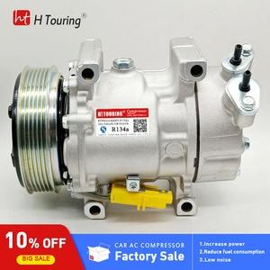 Image 1 - For Sanden SD6V12 6V12 A/C Compressor For Peugeot 206 307 1998 2010 96390781 9639078180 96462733 9646273380 96462738 9646273880
