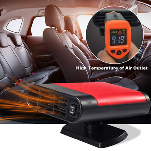 Winter Car Heater Universal 12V Car Interior Heating Cooling Accessories Fan Heater Window Mist Remover Portable Car Heaters
