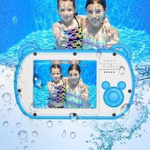 Подводный детская Камера 8xdigital с переменным фокусным расстоянием 2,7 дюймов ЖК-дисплей Водонепроницаемый HD видеокамера для детей подарки с постоянным фокусным расстоянием f объектив цифровой камеры