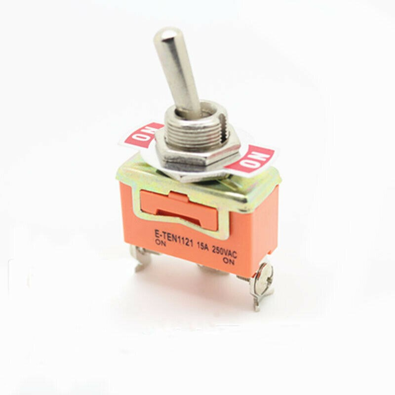 1 шт Φ on e ten1121 rocker switch 15a 250vac spdt 3 контактный