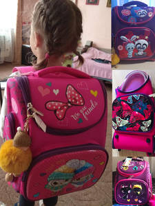 Orthopedic Backpack Mochila Schoolbag Satchels Panda Rabbit Girls Waterproof Cartoon