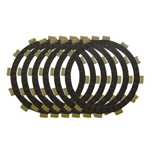 Motorcycle Clutch Friction Plates Kit For Suzuki GT185 TS185ER TS185 DR200 K GT200 GSF250 GSXR250 GJ72A LT-F250 TS250X SJ11B(China)
