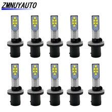 10pcs H27 Led Bulb H27W 880 Led Car Fog Lamp White Auto Daytime Running Lights H27W/1 Driving Lamps 12V 24V
