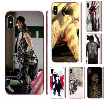 Darly Dixon The Walking Dead Zombies For Samsung Galaxy Note 5 8 9 S3 S4 S5 S6 S7 S8 S9 S10 5G mini Edge Plus Lite image