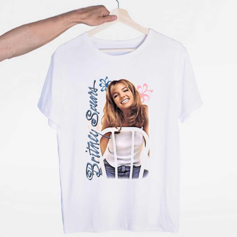 Britney Spears Áo Thời Trang Nam Nữ Homme Rapper Đá Áo Thun Nữ Dạo Phố Hàng Đầu In Hình Đáng Yêu Nam Áo áo Thun Nữ Tay Ngắn