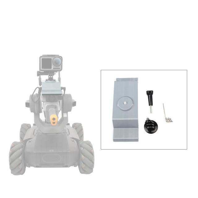 Sunnylife ספורט מצלמה הר מחזיק 1/4 מתאם עבור DJI RoboMaster S1 מרחוק בקר חכם מכונית צעצוע רובוט אבזר 3D מודפס