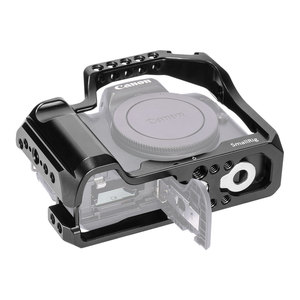 Image 3 - Nato 레일이있는 Canon EOS M50 / M5 케이지 용 SmallRig DSLR 카메라 케이지 퀵 릴리스 어 테치먼트 2168 용 콜드 슈 마운트