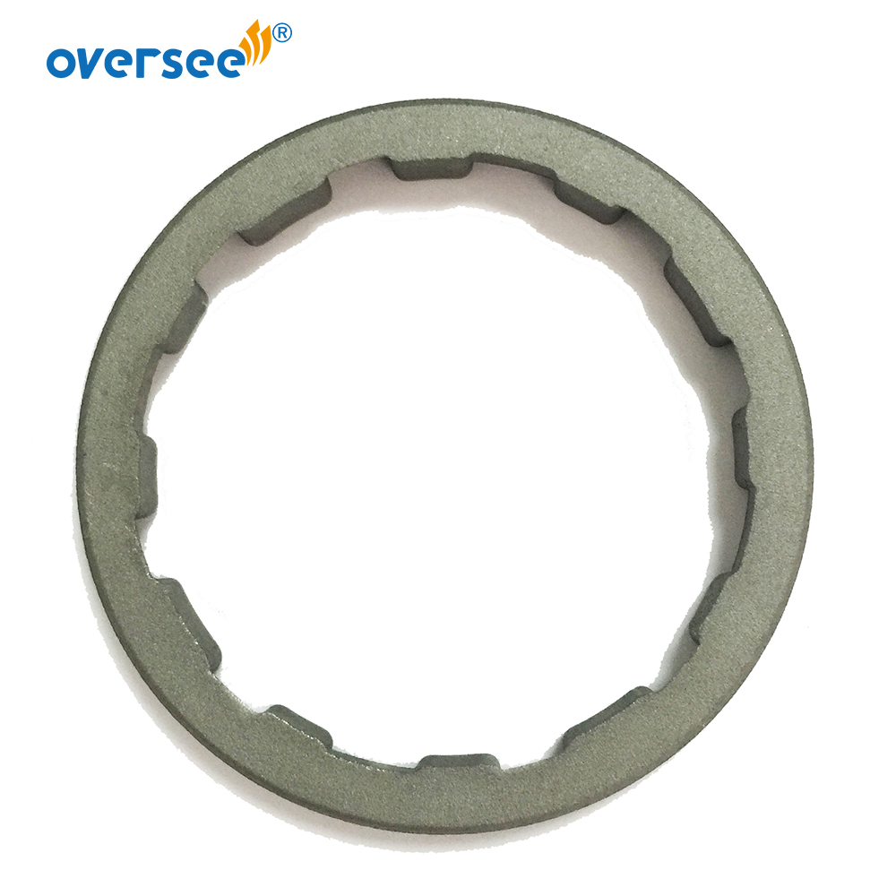 664-45384 Lock Ring Nut for Yamaha Outboard Motor Lower Casing C25 C30 30HP 25HP <font><b>30</b></font> <font><b>25</b></font> M E 664-45384-00 image