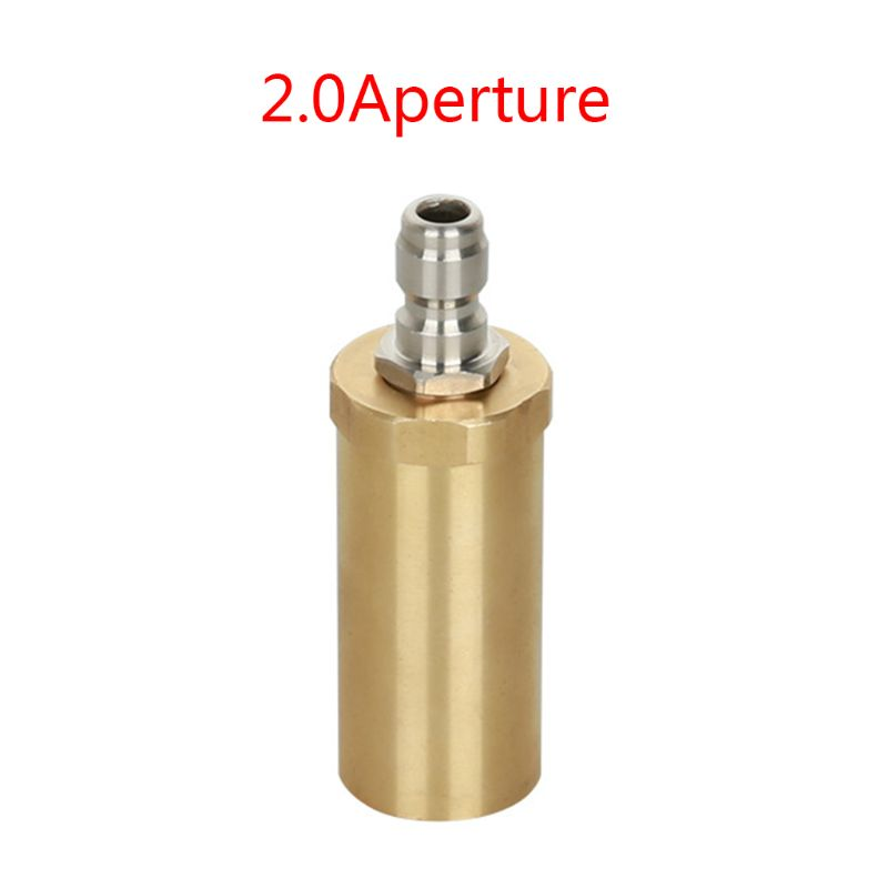 High Pressure Pure Copper Rotary Nozzle 3600PSI Domestic 360 Degree Ceramic Spool Wash Nozzle