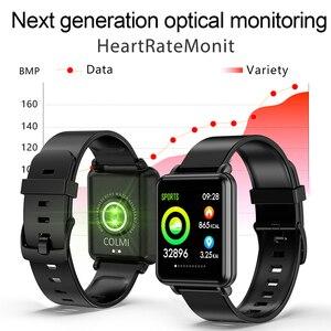 Image 3 - Colmi Đất 1 Full Màn Hình Cảm Ứng Thông Minh IP68 Bluetooth Chống Nước Thể Thao Theo Dõi Nam Đồng Hồ Thông Minh Smartwatch Dành Cho IOS Android Điện Thoại