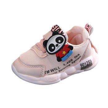 Bebé niños niñas sólido transpirable de deporte Zapatillas de deporte Zapatos 2020...