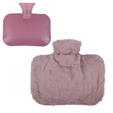 Портативный плюшевый согревающий мешок для горячей воды 15 л