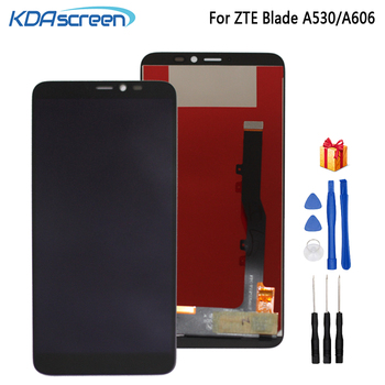 цена на For ZTE Blade A530 LCD Display Touch Screen Digitizer Assembly  Repair Patrs For ZTE Blade A606 Screen LCD Display