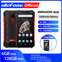 Ulefone Armor 6S Waterproof IP68 NFC Rugged Mobile Phone Hel