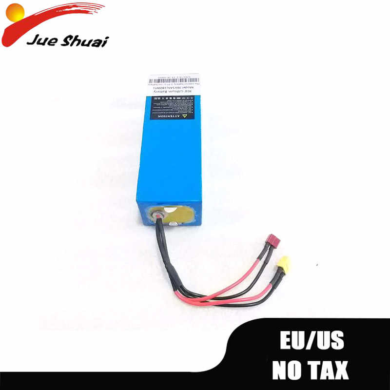 48v Battery 36v 18A Lithium Ion Batteries For Electric Scooter Parts Escooter Bacteria 36v Scooter Battery With Charger No Tax