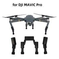 Kit de equipo de aterrizaje extensor de altura para Dron DJI Mavic Pro Platinum, Protector de pierna, muelle suave, a prueba de golpes, accesorio de pies