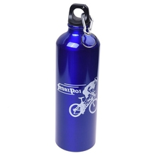 750ml Water Bottle Sporty Aluminum Bicycle
