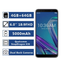 Global Version Asus ZenFone Max Pro (M1) ZB602KL 4GB RAM 64GB ROM Smartphone 18:9 FHD 5000mAh Snapdragon 636 Android смартфон