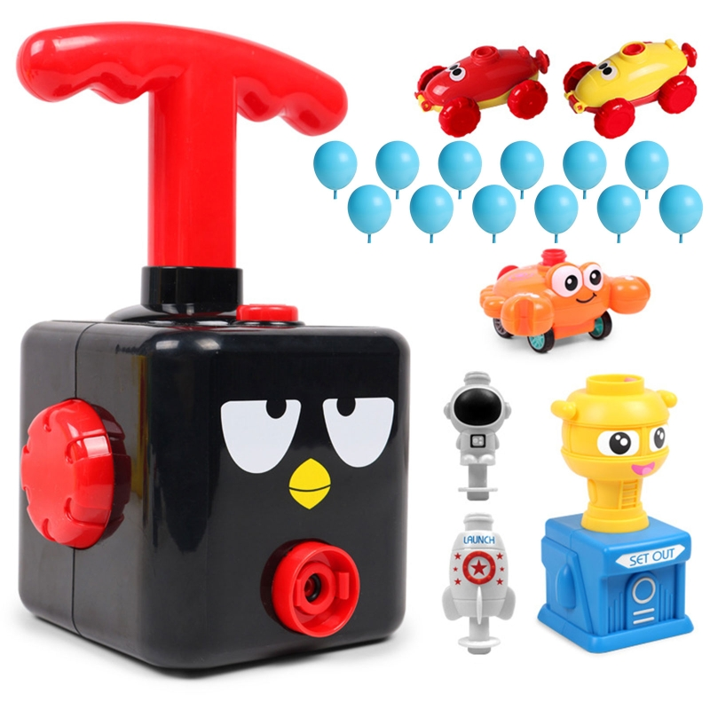Новый Мощный воздушный шар, пусковая башня, головоломка, веселая образовательная инерционная энергия, шар Детская Автомобильная игрушка, п...