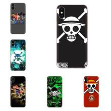 Soft TPU Mobile Comic One Piece Luffy For Galaxy Grand A3 A5 A7 A8 A9 A9S On5 On7 Plus Pro Star 2015 2016 2017 2018(China)