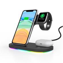 チー15ワット高速充電3 1ワイヤレス充電器でiphone 11プロ充電器アップル腕時計5 4 airpodsプロワイヤレス充電スタンド